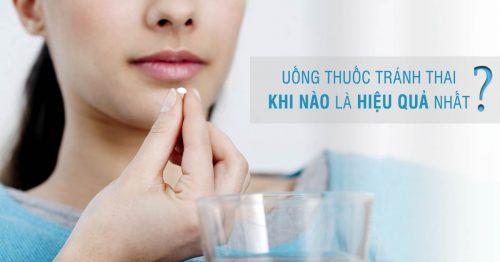 Uống thuốc tránh thai Mifestad 10 khi nào là hiệu quả nhất?