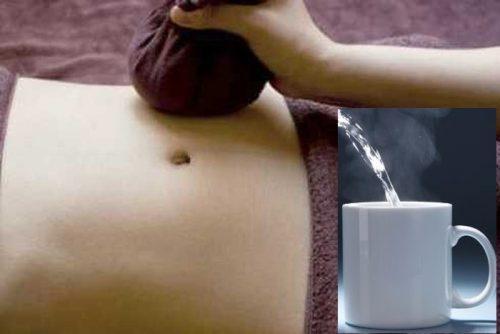 Cách xử lý khi bị đau bụng kinh bằng nước ấm