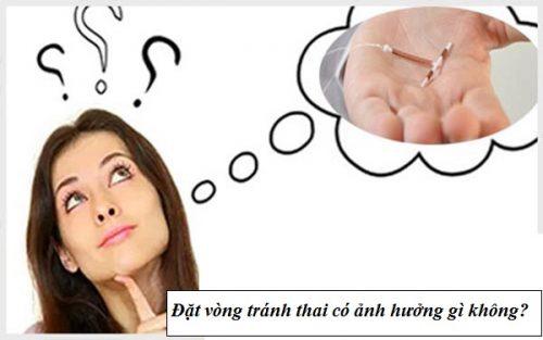 Những ảnh hưởng khi đặt vòng tránh thai UID
