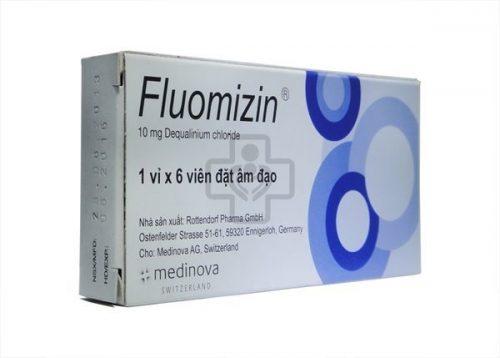 Thuốc đặt viêm lộ tuyến Fluomizin